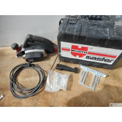 Rabot electrique WURTH EH4 1050 watts