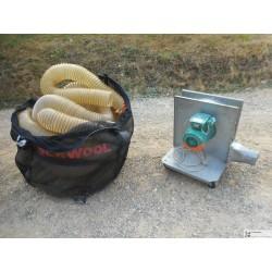 Souffleuse  machine a souffler laine de roche