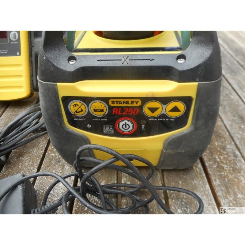 Niveau laser rotatif automatique stanley rl 250gl fatmax toutoccas72 - Niveau laser rotatif automatique ...