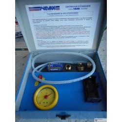 NEVAX - Contrôleur d'étanchéité gaz - 510050