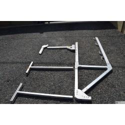 Console suspendu aluminum DIMOS à crosse