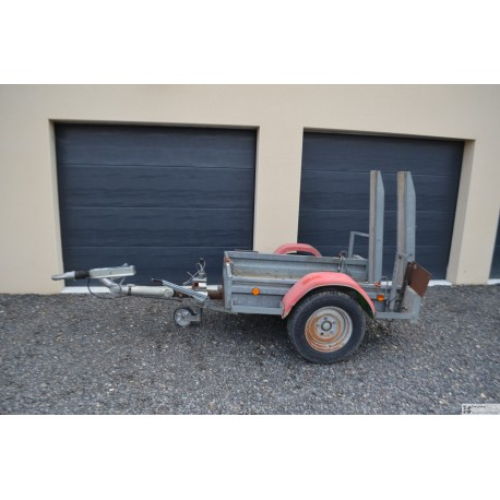 Remorque ECIM porte engin charge 1300KG