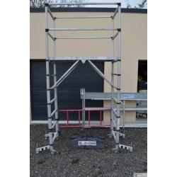 Teletower échafaudage Télescopique tubesca 4m