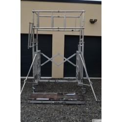 Échafaudage TUBESCA / COMABI  roulant télescopique X'Tower - L. 3 m
